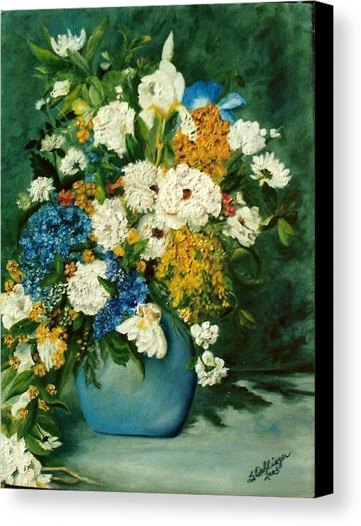 Still Life Canvas Print featuring the painting Family Ties by Susan Dehlinger
