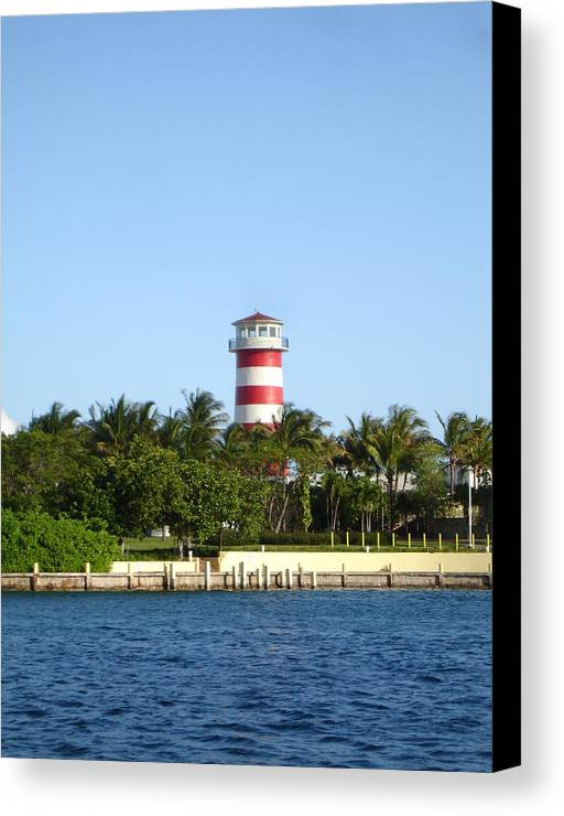 Canvas Print featuring the photograph Light House by Karla Kernz