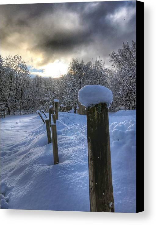 Morning Canvas Print featuring the photograph Morning Has Broken by Pat Moore