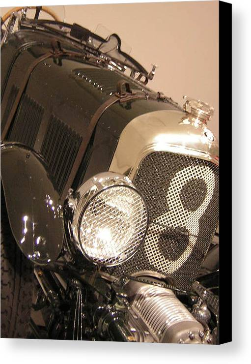 Car Canvas Print featuring the photograph No. 8 by Heather Weikel