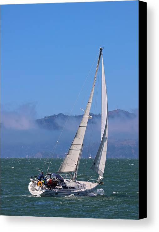 San Francisco Canvas Print featuring the photograph The Black Pearl by DUG Harpster