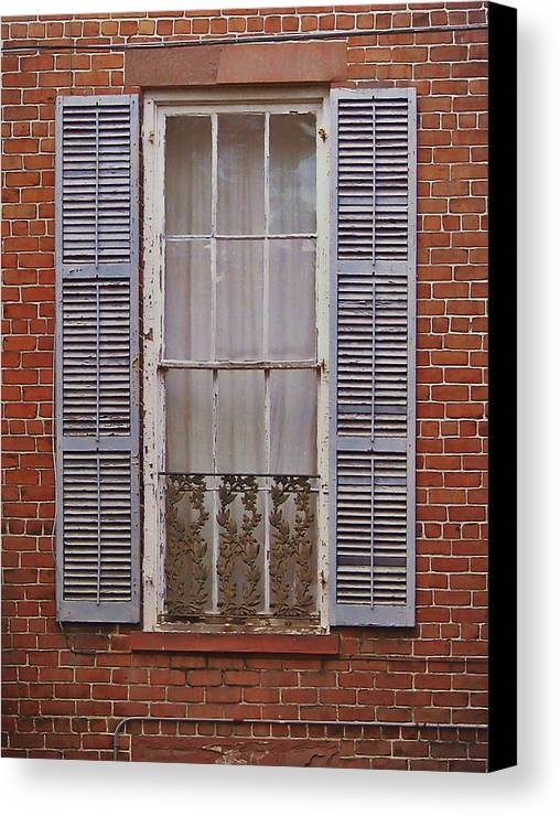 Home Canvas Print featuring the photograph The Color Purple by JAMART Photography