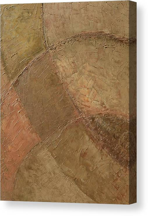 Circle Back Canvas Print featuring the painting Circle Back by Linda Bailey