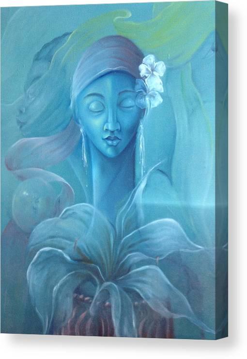 Voodoo Priestess Canvas Print