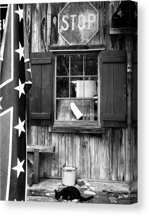 Andersonville Canvas Print featuring the photograph Andersonville Street Scene by Todd Fox