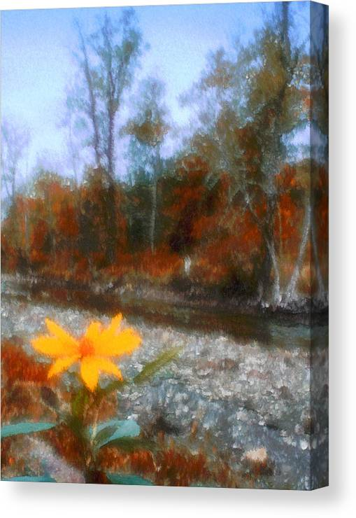 Autumn Canvas Print featuring the photograph Goodbye Summer by Kenneth Krolikowski