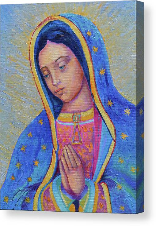 Our Lady Of Guadalupe For Sale Canvas Print Canvas Art By