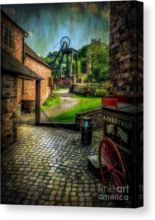 Victorian Canvas Print featuring the photograph Old Mine by Adrian Evans