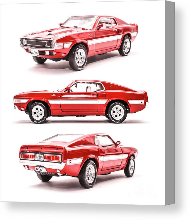 Cars Canvas Print featuring the photograph Shelby Gt500 by Jorgo Photography - Wall Art Gallery
