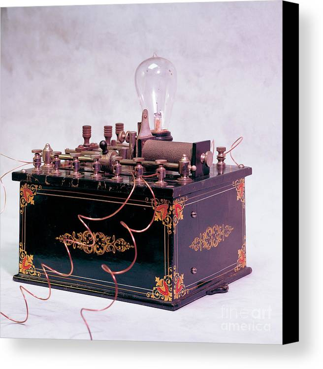 Electric Canvas Print featuring the photograph Electroconvulsive Therapy by Brooks / Brown