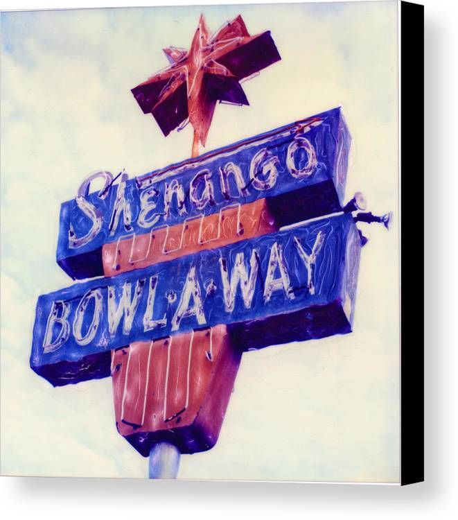 Nostalgia Canvas Print featuring the photograph Shenango Bowl-a-way by Steven Godfrey