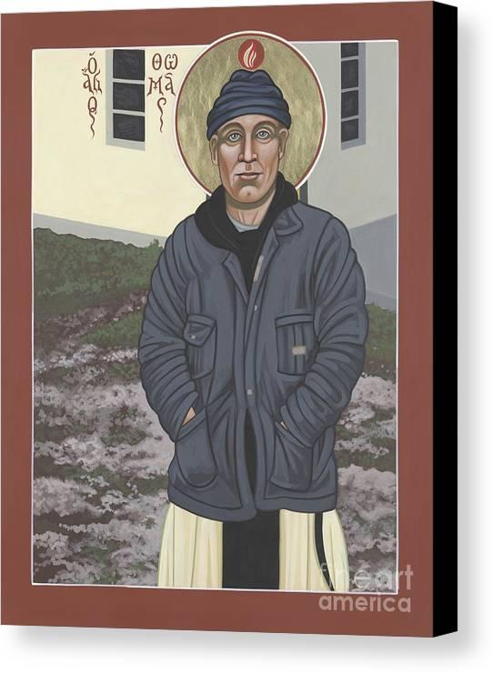 Holy World Evangelist Thomas Merton 267 by William Hart McNichols