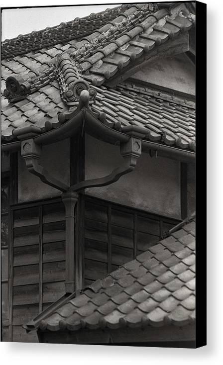Archetecture Canvas Print featuring the photograph Style And Grace In Tile by Craig Wood
