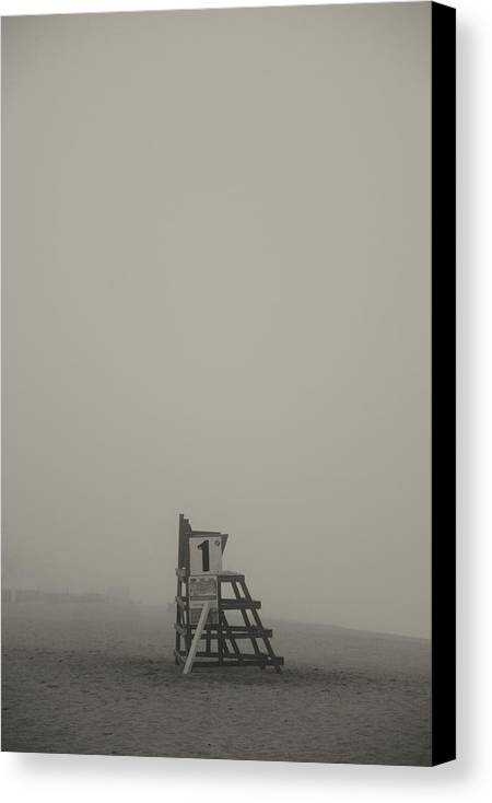 Beach Canvas Print featuring the photograph Safe by Adriana Ward