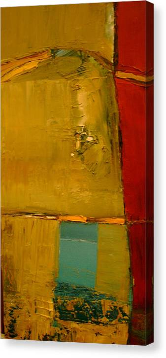 Abstract Canvas Print featuring the painting A Portal To A Discovery by Stefan Fiedorowicz
