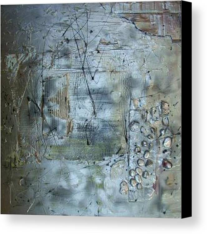 Mixed Media.assemblage Canvas Print featuring the mixed media .........mixed Media........ by Wiola Anyz