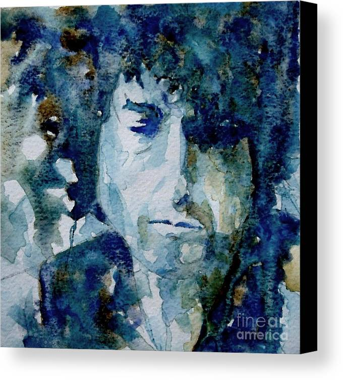 Icon Canvas Print featuring the painting Dylan by Paul Lovering