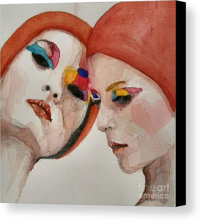 True Colors Canvas Print featuring the painting True Colors by Paul Lovering