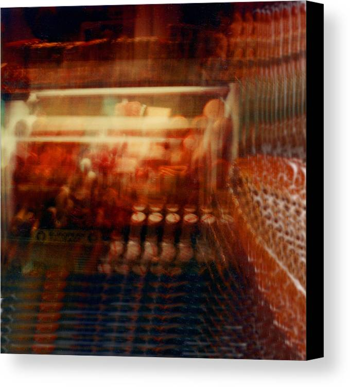 Abstact Canvas Print featuring the photograph Another Look 6 by Lyle Crump