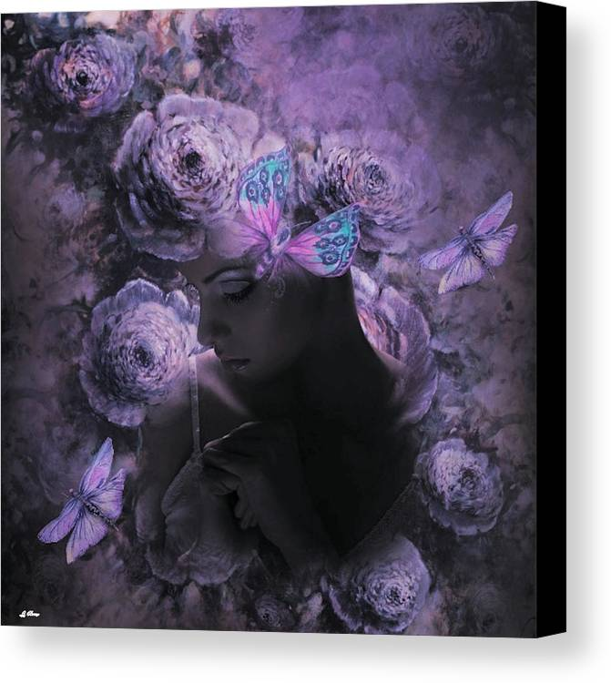Modern Canvas Print featuring the mixed media Shadow Of The Day by G Berry