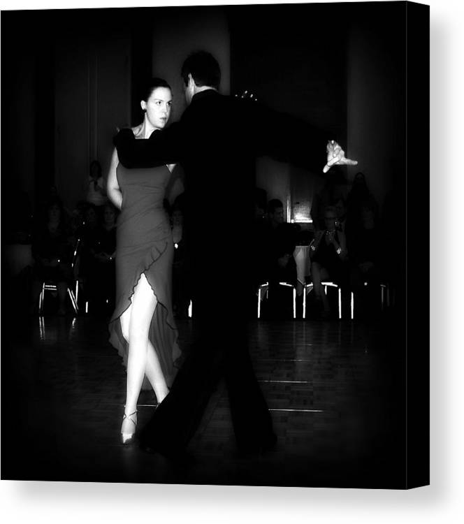 Dance Canvas Print featuring the photograph The Look by Lori Seaman