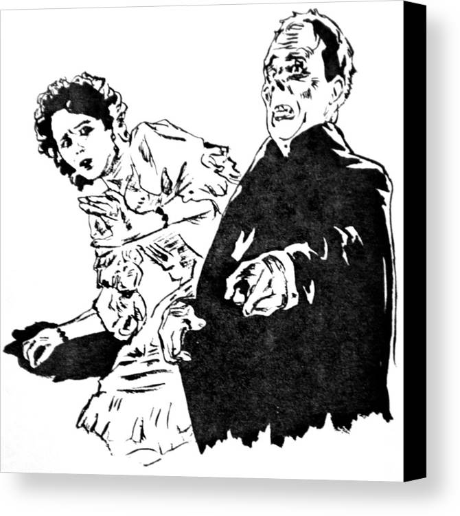 The Phantom Of The Opera Canvas Print / Canvas Art by Bryan Bustard