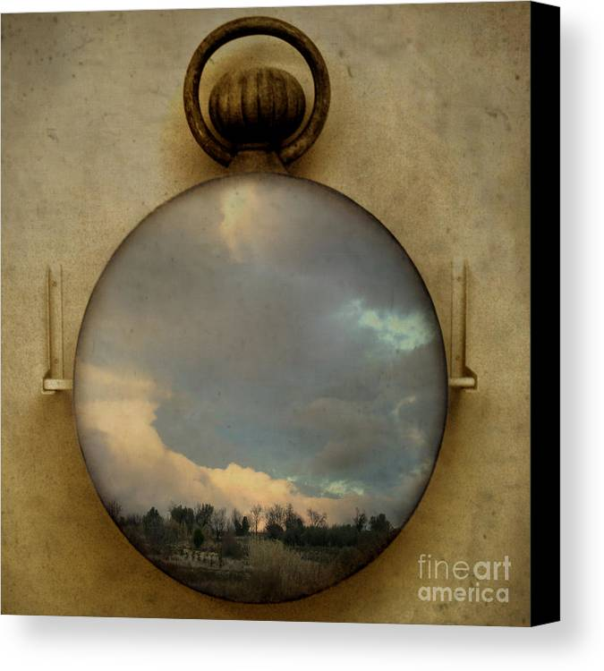 Time Canvas Print featuring the photograph Time Free by Martine Roch