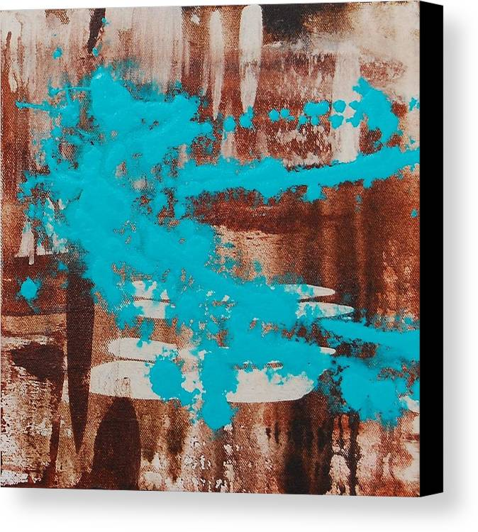 Urban Canvas Print featuring the painting Urbanesque II by Lauren Luna