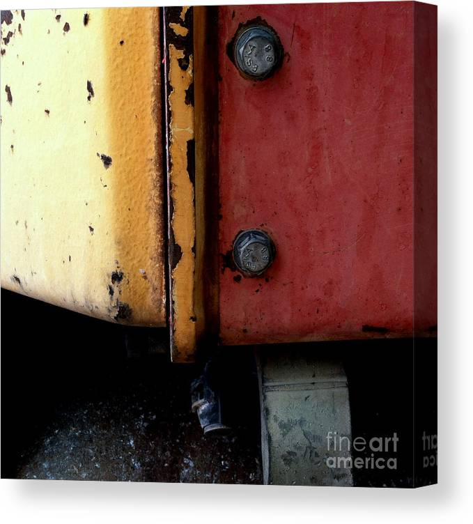 Abstract Photography Canvas Print featuring the photograph Pc 56 by Marlene Burns