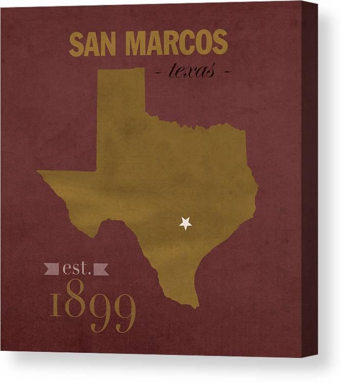 Texas State University Bobcats San Marcos College Town State Map Pillow on burnet tx map, schertz tx map, waxahachie tx map, mapquest tx map, the woodlands tx map, san pedro tx map, borger tx map, center tx map, humble tx map, pasadena tx map, beeville tx map, seguin tx map, progreso tx map, southside place tx map, hattiesburg tx map, houston tx map, bunker hill village tx map, kerrville tx map, long beach tx map,