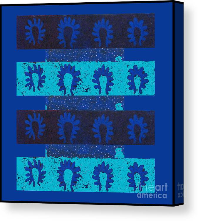 Plankton Canvas Print featuring the digital art Plankton by Aliza Souleyeva-Alexander