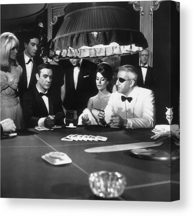 People Canvas Print featuring the photograph Thunderball by Macgregor