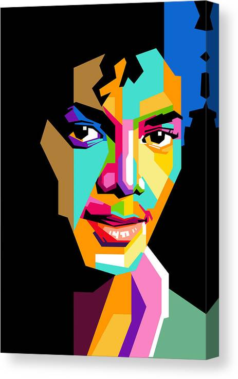 Art print POSTER Canvas Young Michael Jackson