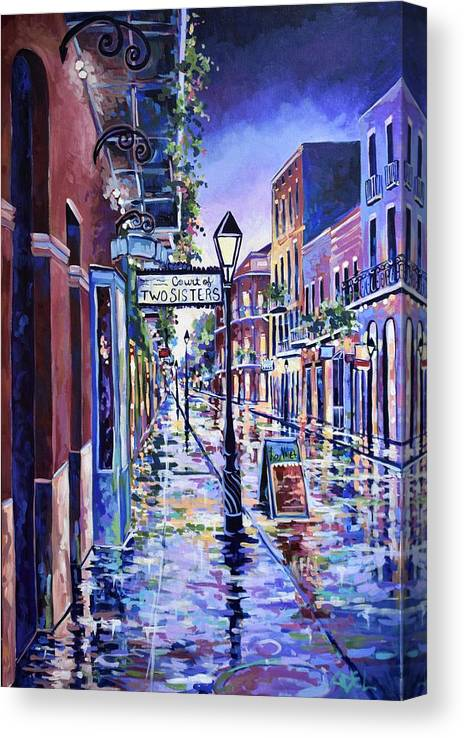 Court of Two Sisters New Orleans  by Elaine Adel Cummins