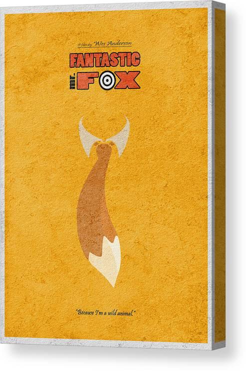 Fantastic Mr Fox Canvas Print Canvas Art By Inspirowl Design