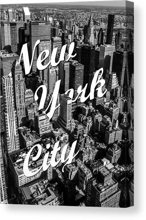 New York Canvas Print featuring the photograph New York City by Nicklas Gustafsson