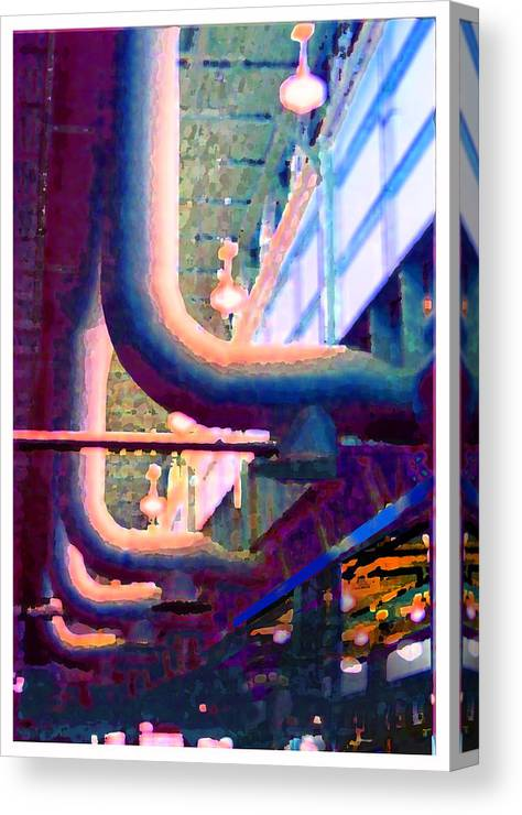 Abstract Canvas Print featuring the photograph panel one from Star Factory by Steve Karol