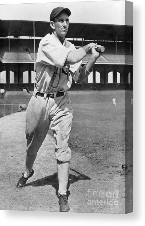 1930-1939 Canvas Print featuring the photograph National Baseball Hall Of Fame Library by National Baseball Hall Of Fame Library