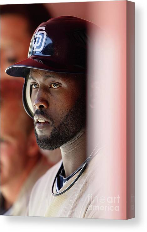 Tony Gwynn Jr. Canvas Print featuring the photograph San Diego Padres V Arizona Diamondbacks by Christian Petersen