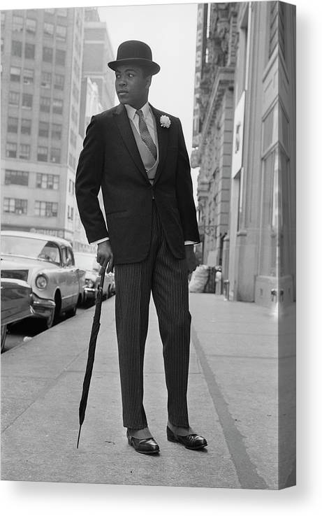 One Man Only Canvas Print featuring the photograph Heavyweight Gent by Express