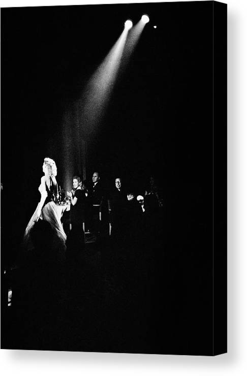 People Canvas Print featuring the photograph London Nightclub by Bert Hardy