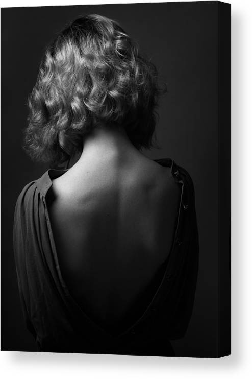 Behind Canvas Print featuring the photograph Mood Of The Soul by Boris Belokonov