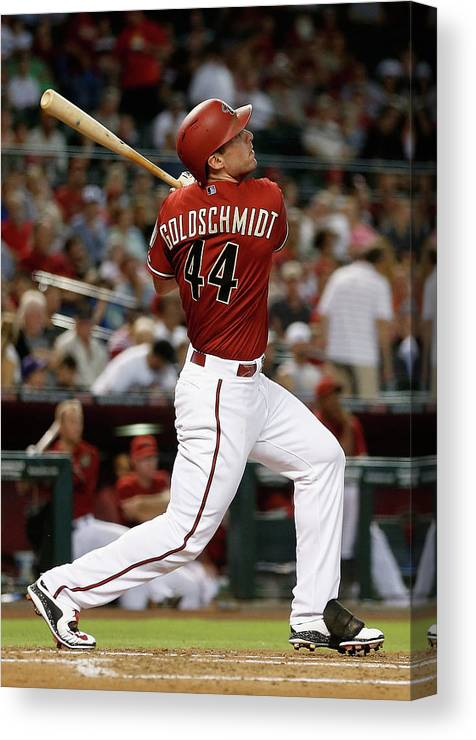 People Canvas Print featuring the photograph Paul Goldschmidt by Christian Petersen