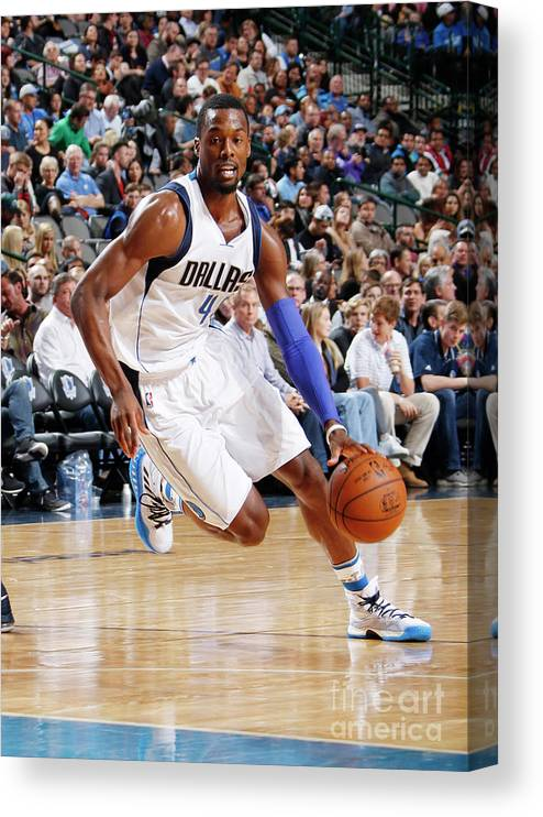 Nba Pro Basketball Canvas Print featuring the photograph Harrison Barnes by Danny Bollinger