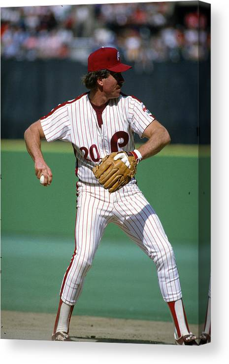 Sports Ball Canvas Print featuring the photograph Philadelphia Phillies by Focus On Sport