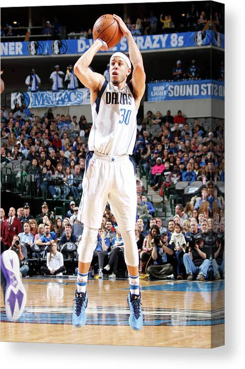 Nba Pro Basketball Canvas Print featuring the photograph Seth Curry by Danny Bollinger