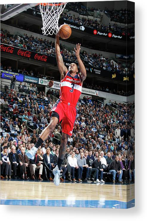 Nba Pro Basketball Canvas Print featuring the photograph Bradley Beal by Glenn James
