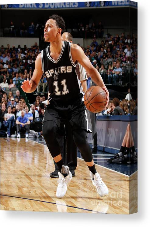 Nba Pro Basketball Canvas Print featuring the photograph Bryn Forbes by Danny Bollinger