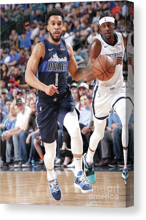 Nba Pro Basketball Canvas Print featuring the photograph Courtney Lee by Glenn James