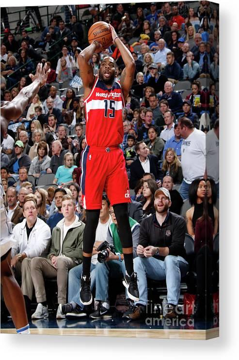 Nba Pro Basketball Canvas Print featuring the photograph Dallas Thornton by Glenn James